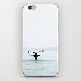 Whale Tail iPhone Skin