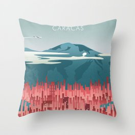 Caracas Throw Pillow