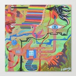 Smelly Pyjamas Canvas Print