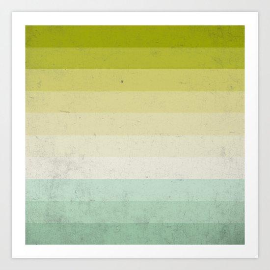 lime and lemon Art Print