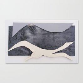 Fly Like a Seagull Canvas Print