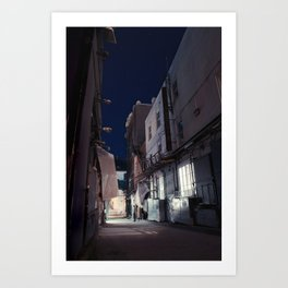 The Backstreet Art Print