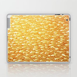 crenowood gold Laptop & iPad Skin