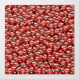Christmas Da Way Canvas Print