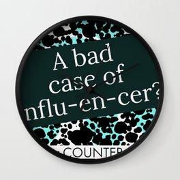 Counter Counter Culture - Social Media Wall Clock