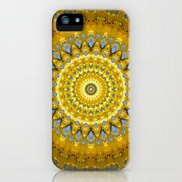 Gelbe Forsithien in Gross iPhone Case