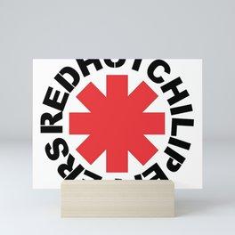 red hot Mini Art Print