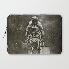 Space Traveller sepia Laptop Sleeve