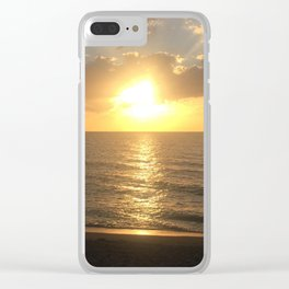 Captiva Sunset Clear iPhone Case