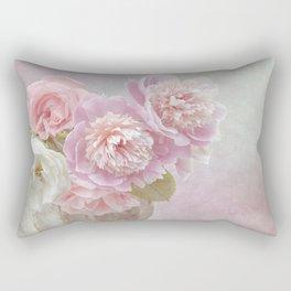 Peonies Rectangular Pillow