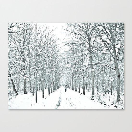 winter symphony Canvas Print