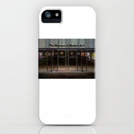 MoMA's Rules (oil on canvas) iPhone Case