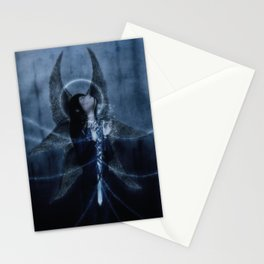 Angel Blues Stationery Cards