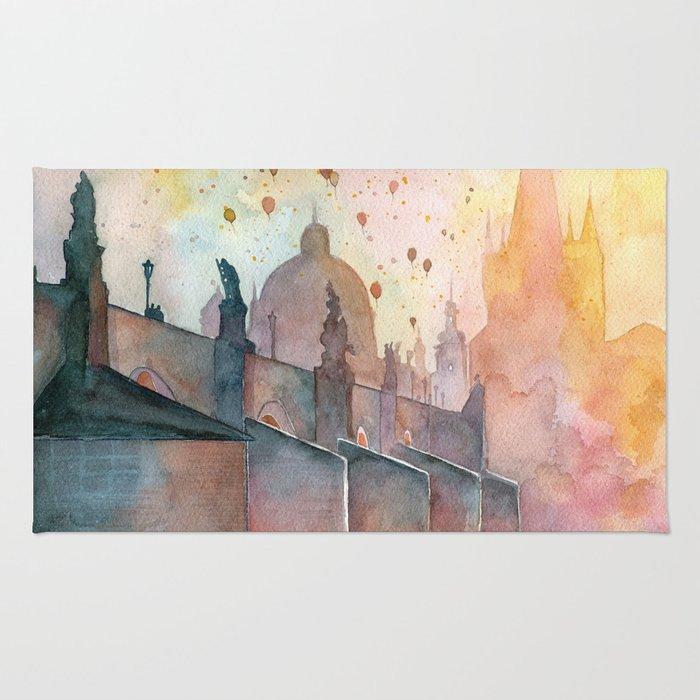 Charles Bridge, Prague Rug