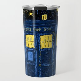 Space Time Impressionism Travel Mug