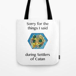Catan, Settlers of Catan, Board Game, Geek Art, Nerd Art Tote Bag