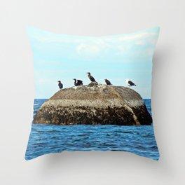 Sea Perch Throw Pillow