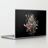 skyrim Laptop & iPad Skins featuring Let me guess, someone stole your sweetroll by Fightstacy