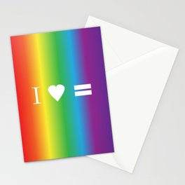I heart Equality Stationery Cards