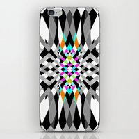 chic iPhone & iPod Skins featuring Chic by Ornaart