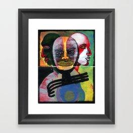 HOY ES EL 4 DE iii DE MCMXCVI Framed Art Print