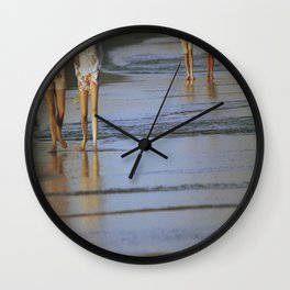2's at the Beach Wall Clock