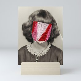 The Face of an Angle Mini Art Print