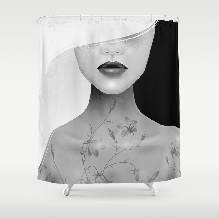 Where The Wild Things Grow Alternate Shower Curtain