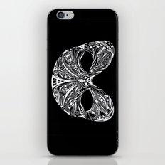 Swan Mask iPhone & iPod Skin