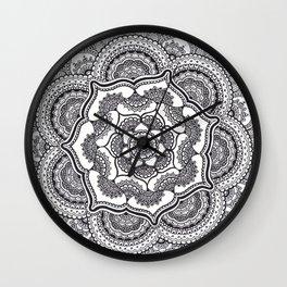 Spring Lotus Wall Clock