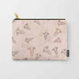 Flower pastel color floral Carry-All Pouch