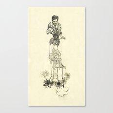 Making a Home Canvas Print