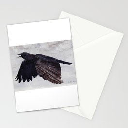 As the Crow Flies Stationery Cards