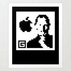 QR- Jobs Art Print