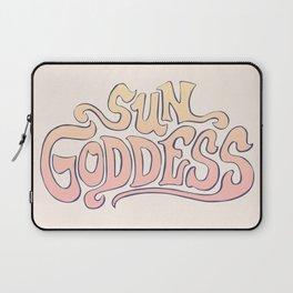 SUN GODDESS Laptop Sleeve