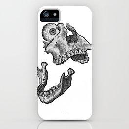 Broken jaw iPhone Case