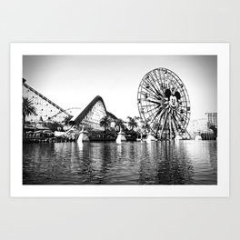 California Adventure: Paradise Pier Art Print