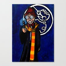 Doctor Harry Who Canvas Print
