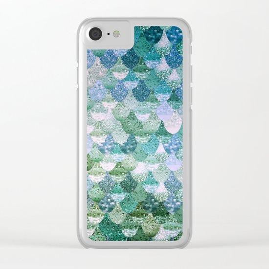 REALLY MERMAID OCEAN LOVE Clear iPhone Case