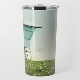 Santa Barbara Lifeguard Stand  Travel Mug