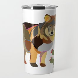 Wolf Endangered Mexican Gray Wolf Travel Mug