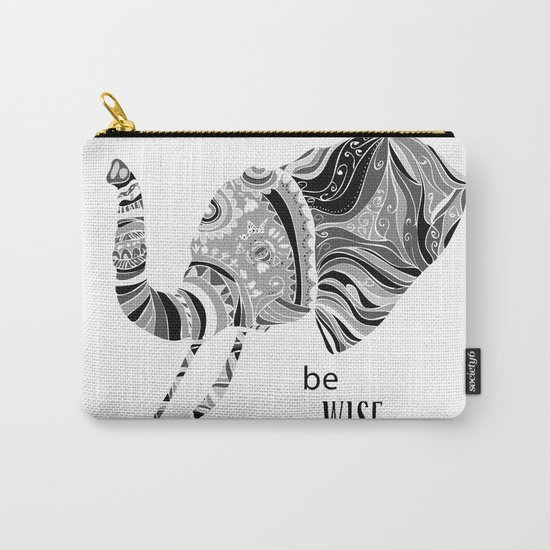 BE WISE Carry-All Pouch