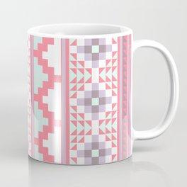 Pink Aztec Quilt Coffee Mug