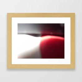 candy swirl Framed Art Print