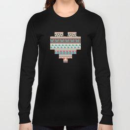 Fair-Hyle Knit Long Sleeve T-shirt