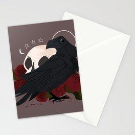 Familiar: Raven Stationery Cards