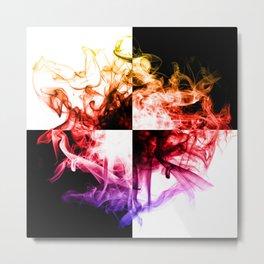 Energy of the soul - quarters Metal Print