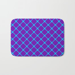 Square Pattern 1 Bath Mat