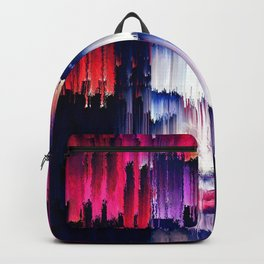 The Rain and purple poetry Backpack
