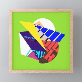 Nom Framed Mini Art Print